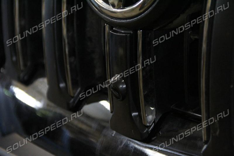 Установка передней камеры на прадо 150 комфорт